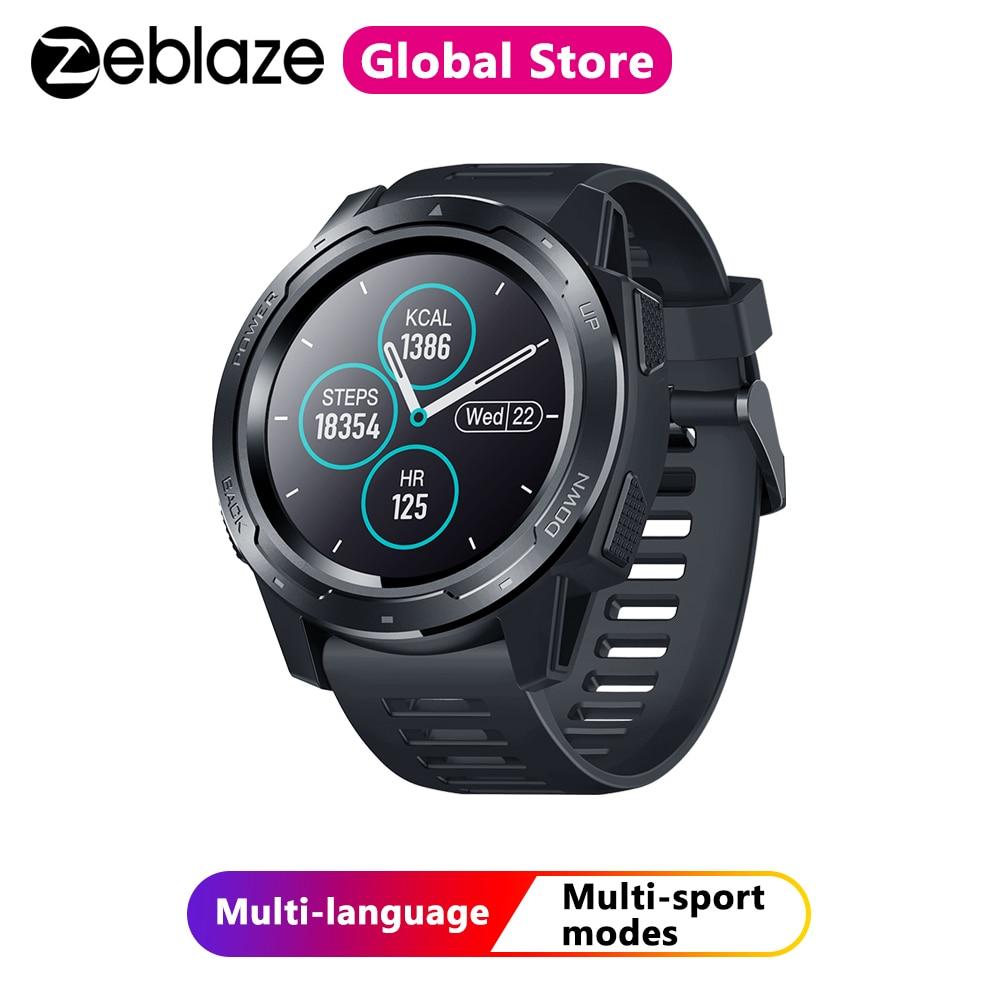 Zeblaze VIBE 5 IP67 Waterproof Heart Rate Monitor Smart Watch Long Battery Life Color Display Multi-sports Modes Fitness Tracker