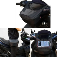 Мотоциклетная сумка на лобовое стекло, сумка на руль, сумка для топливного бака, мобильный телефон, сенсорный экран, сумка для наушников для ...