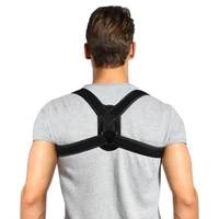 upper back posture corrector corset brace clavicle support to improve bad posture inverted eight string spine clavicle belt m l