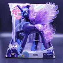 My Little Pony APrincess Luna Princess Celestia Sun Princess Celestia PVC фигурка пони куклы игрушки Детские Подарки для девочек 22 см
