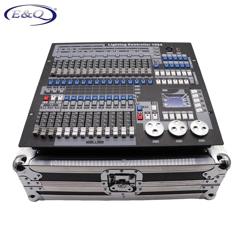 1024 DMX وحدة التحكم مع الطيران وحدة تحكم DJ مناسبة لنقل رئيس ضوء مصباح موازي المستوى سلسلة معدات إضاءة المرحلة