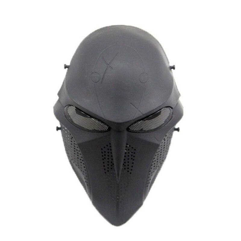 Маска для пейнтбола с черепом смерти, маскарадный костюм для косплея, для Хэллоуина, вечеринки, охоты, страйкбола, тактические военные маски... смерти нет военные рассказы