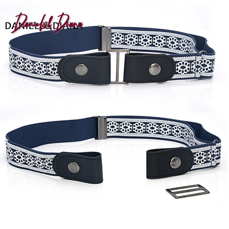 aliexpress.com - Leather Waist Belt Without Buckle Easy Belts For Women Men cinturon mujer Jeans trousers Stretch Invisible hidden Elastic secret