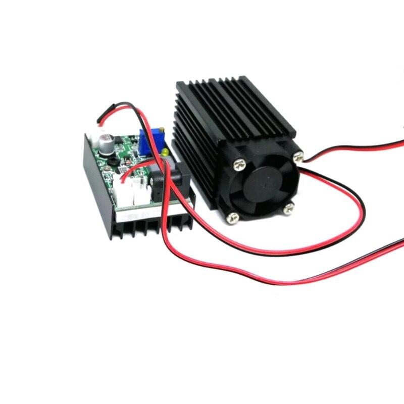 Зеленый лазер регулируемый головка точка 532 нм 100 мВт 12 В с питание адаптер безопасность очки глаза защита