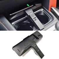 10w qi car wireless charger phone charger charging plate charging holder for bmw x5 f15 x6 f16 x5m f85 x6m f86 accessories