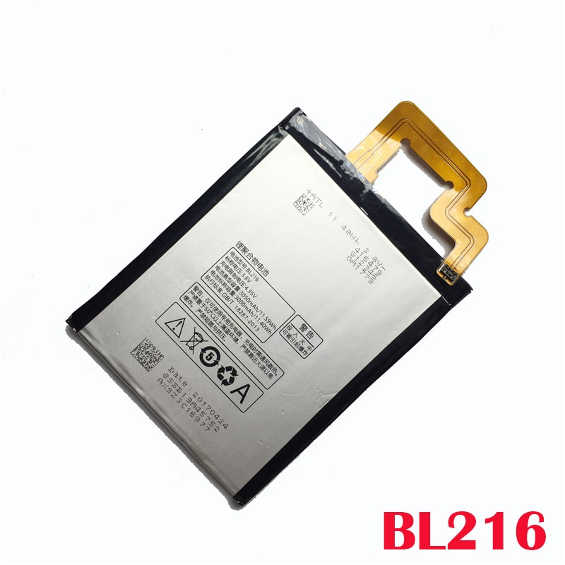 100% oryginalny 3050mAh BL216 BL-216 baterii dla Lenovo VIBE Z K910 K910e K6 X910 telefon wysokiej jakości baterii + numer śledzenia