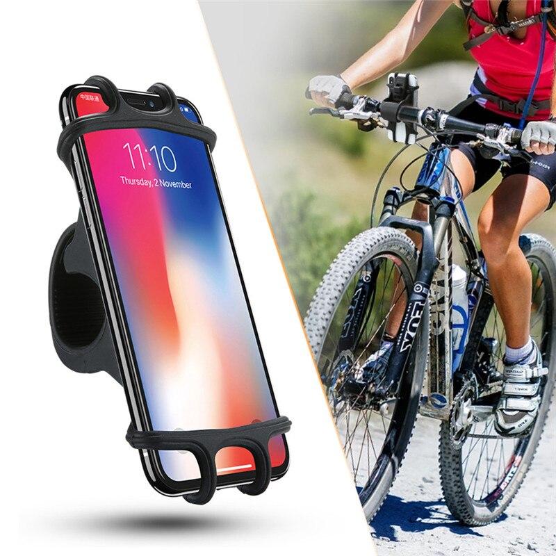 Support de téléphone de vélo pour iPhone Samsung universel téléphone portable vélo guidon pince de montage Support GPS téléphone portable