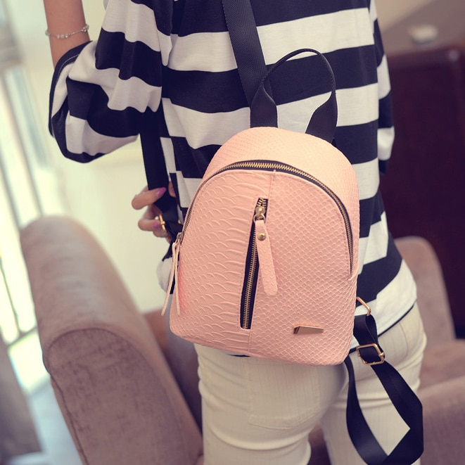 Pequeña mochila de viaje, Mini bolso de hombro para mujer, mochila escolar para Adolescente, mochila para mujer, mochila