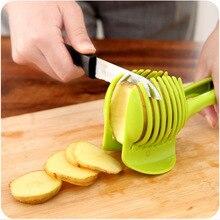 Kitchen Accessories Potato Slicer Tomato Cutter Tools Shreadders Fruit Lemon Cutting Holder Slice Cooking Tools Kitchen Gadgets