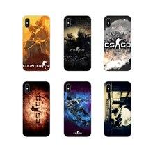 Für Xiaomi Redmi 4A S2 3 3S 4 4X 5 Plus 6 7 6A 7A Pro K20 Counter Strike globale Offensive csgo cs gehen Transparent TPU Shell Abdeckung
