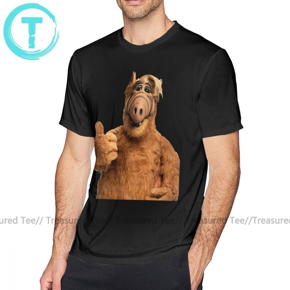 Camiseta Alf, camiseta Alf para hombre, camiseta 5x, bonita Camiseta de manga corta con estampado a la moda, camiseta 100 de algodón