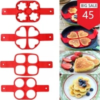 omelet baking fried egg mould rice cooker egg ring mould 1 pcs silicone non stick magic egg kitchen pancake machine