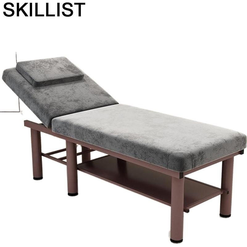 Masajeadora Mueble De muebles Massagetafel Cama Para pedicura Mesa silla Plegable De...
