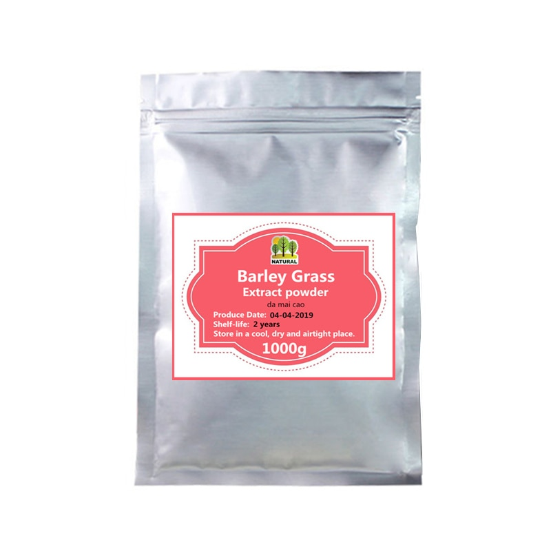 50-1000g,Anti Aging, Nutrition Supplement Barley Grass Extract powder,Da Mai Cao,Lmprove energy and Rebuild the Immune System