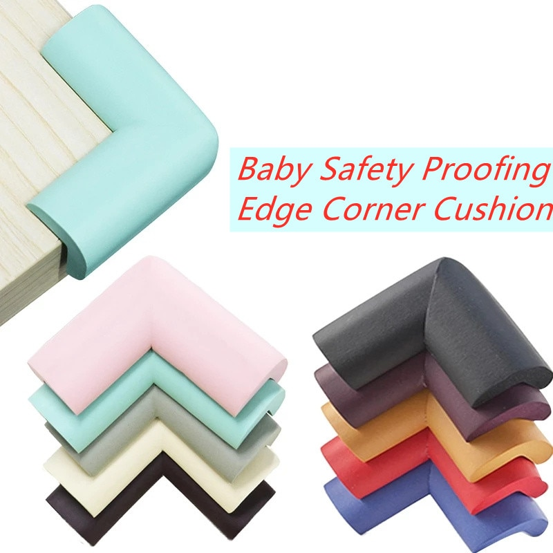 8/10 pcs Baby Safety Proofing Edge Corner Guards Desk Table Corner Protector Children Protection Furniture Bumper Corner Cushion children protection table guard strip baby safety products glass edge protection furniture bumper corner cushion