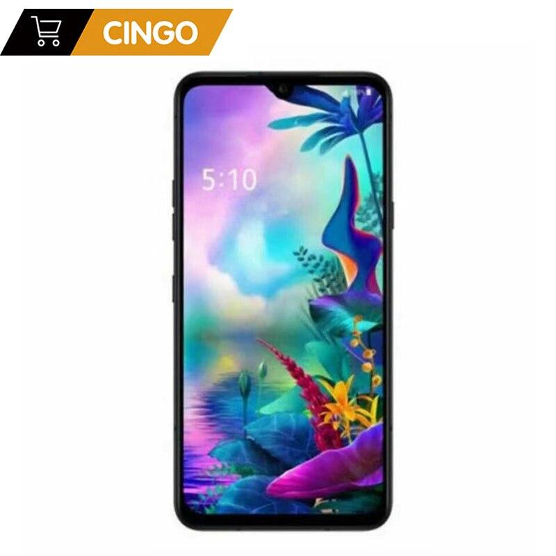 LG G8X ThinQ оригинальный разблокирована LTE Android телефон Snapdragon 855 Octa Core 6,4 дюйм 6 ГБ и 128 ГБ 32MP & 12MP LG V50S ThinQ 5G