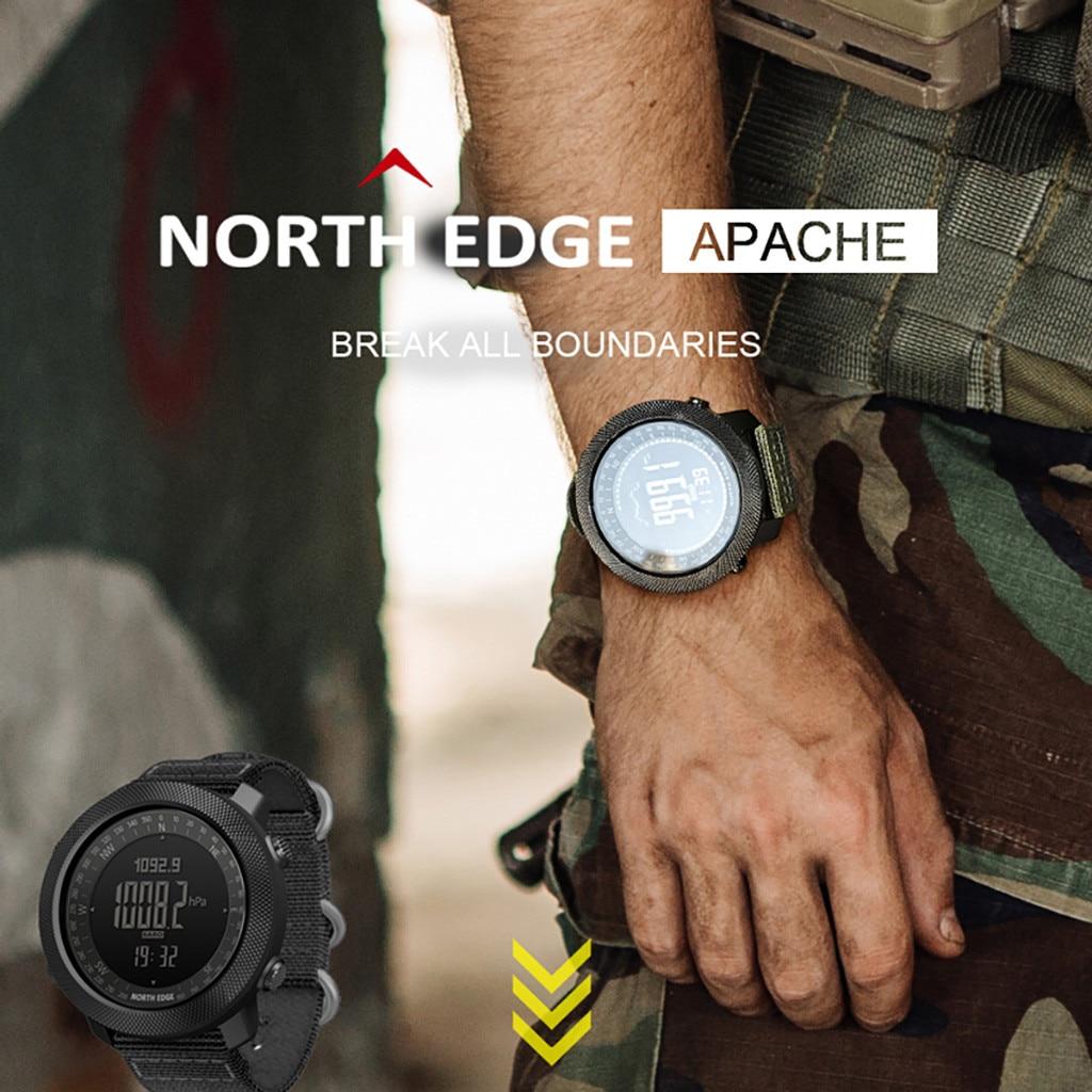 Northedge apa che relógio de pulso digital, à prova d água 5atm, relógio de pulso esportivo masculino, dropshipping, 2020 produtos