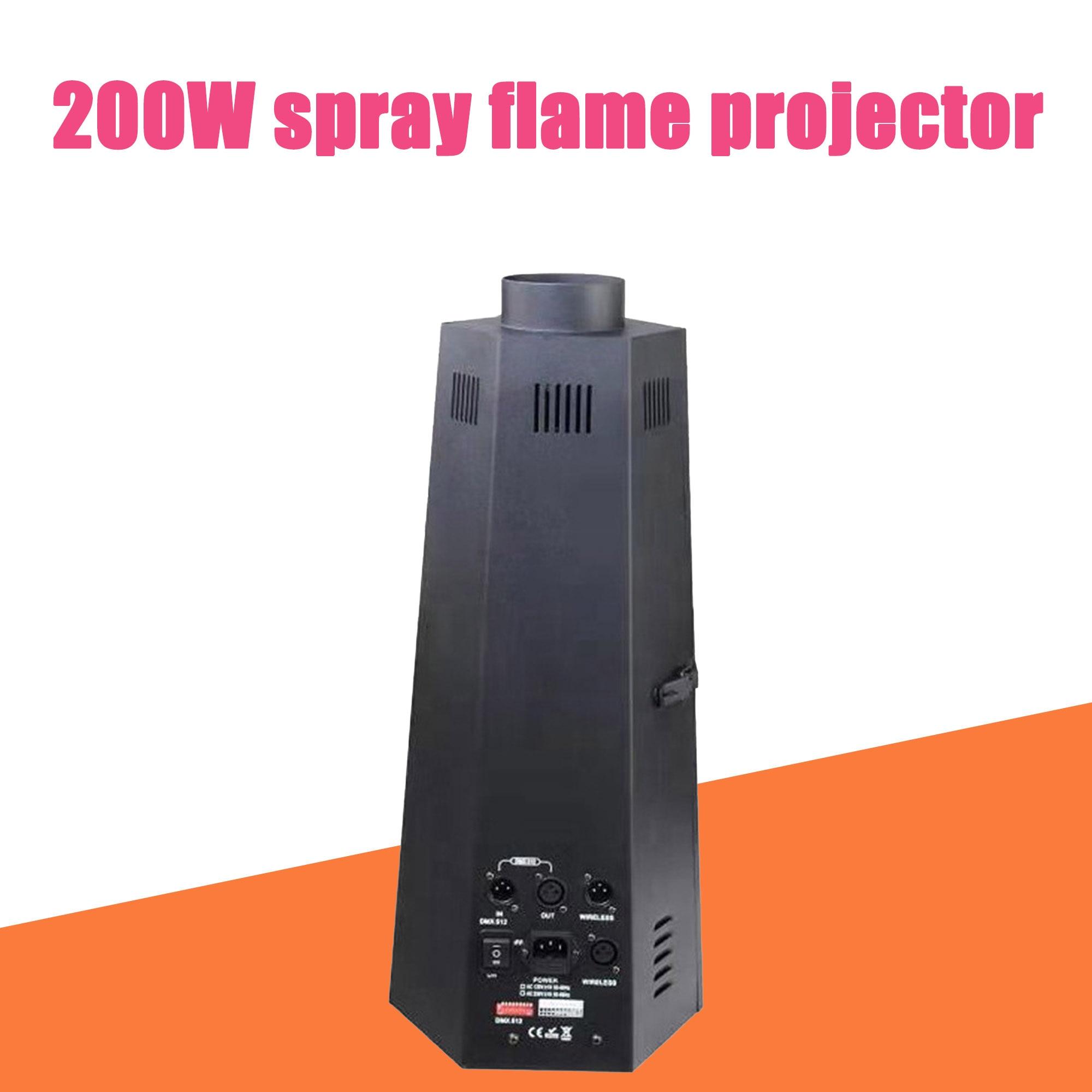 DMX 200W تأثير اللهب ، جهاز عرض المسرح ، حفلة