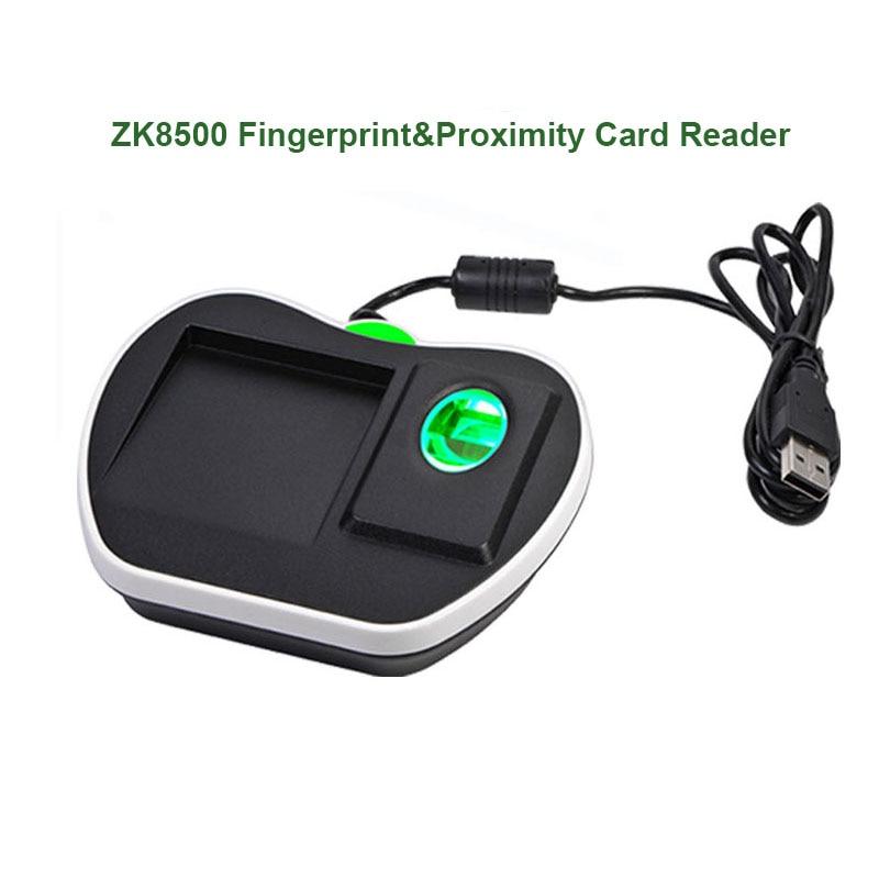 USB قارئ بصمات الايدي ZK8000 البيومترية فنجر الماسح الضوئي الأصلي ZK تتفاعل IC قارئ بطاقات بصمة الاستشعار وحدة