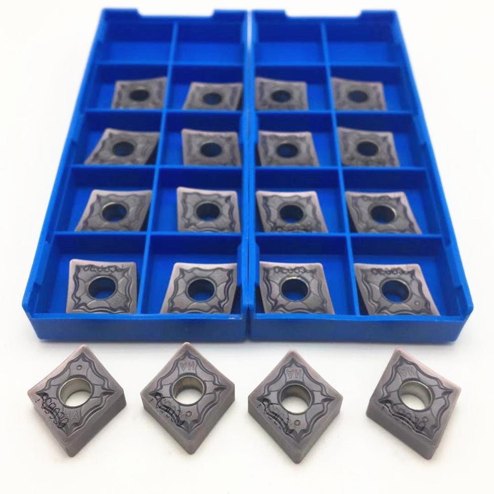 100 pièces outil de tour CNMG120408 HA PC9030 outil de tournage en métal dorigine de haute qualité CNC outil de tournage en acier inoxydable CNMG120408