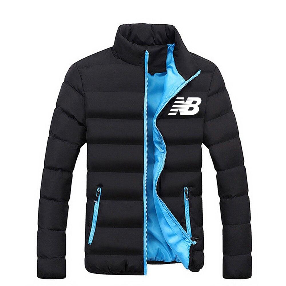 Мужская зимняя куртка с длинным рукавом, модная бейсбольная куртка на молнии, ветровка с подкладкой из плюша, Мужская ветровка для мужчин