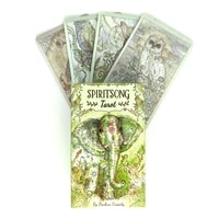 spiritsong tarot cards mystical guidance divination entertainment partys board game supports wholesale 78 sheetsbox