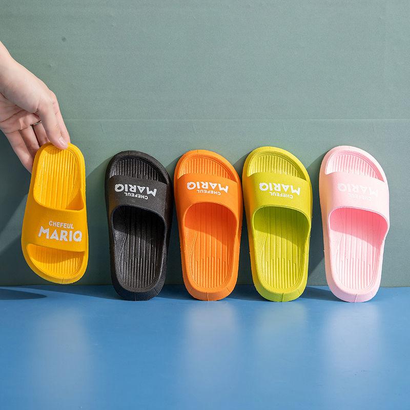 Children's Slippers 2021 Summer Wear Shoes for Boys and Girls at Home Indoor Outdoor Baby in Kindergarten Kids Slippers