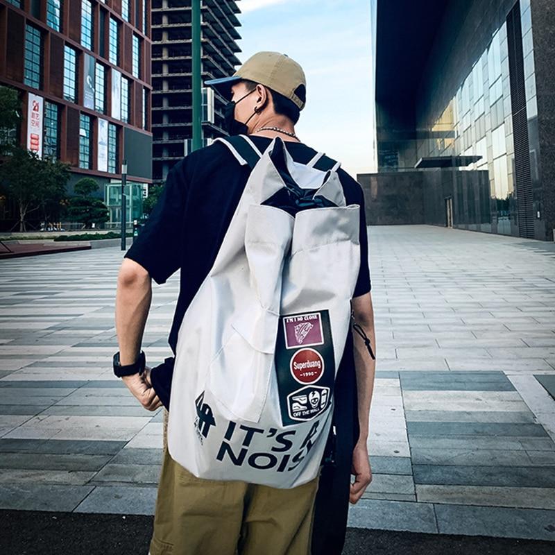 Big Capacity Athletic Bag Multifunction Fitness Sneaker Bag Drawstring Basketball Gym Stuff Article Training Bag Sport Backpack