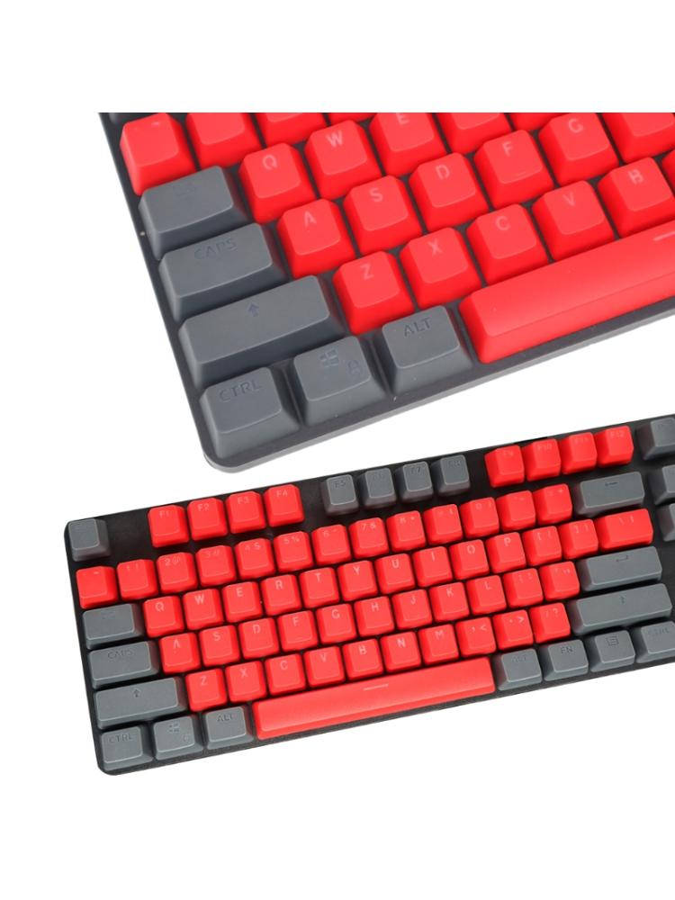 104 Keys Double Shot Keycaps Keyset for Game-player Mechanical Gaming Keyboard Esports Gaming Keyboard Buttons Replace Key Cap