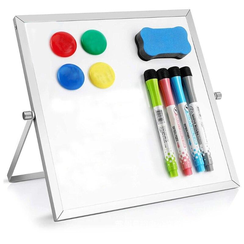Small Dr y Erase White Board Magnetic Desktop 10