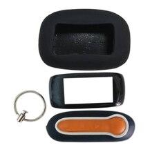 B92 Keychain Case Body + Silicone Case Cover for Car Alarm LCD Remote Control Key Starline B92 B94 B