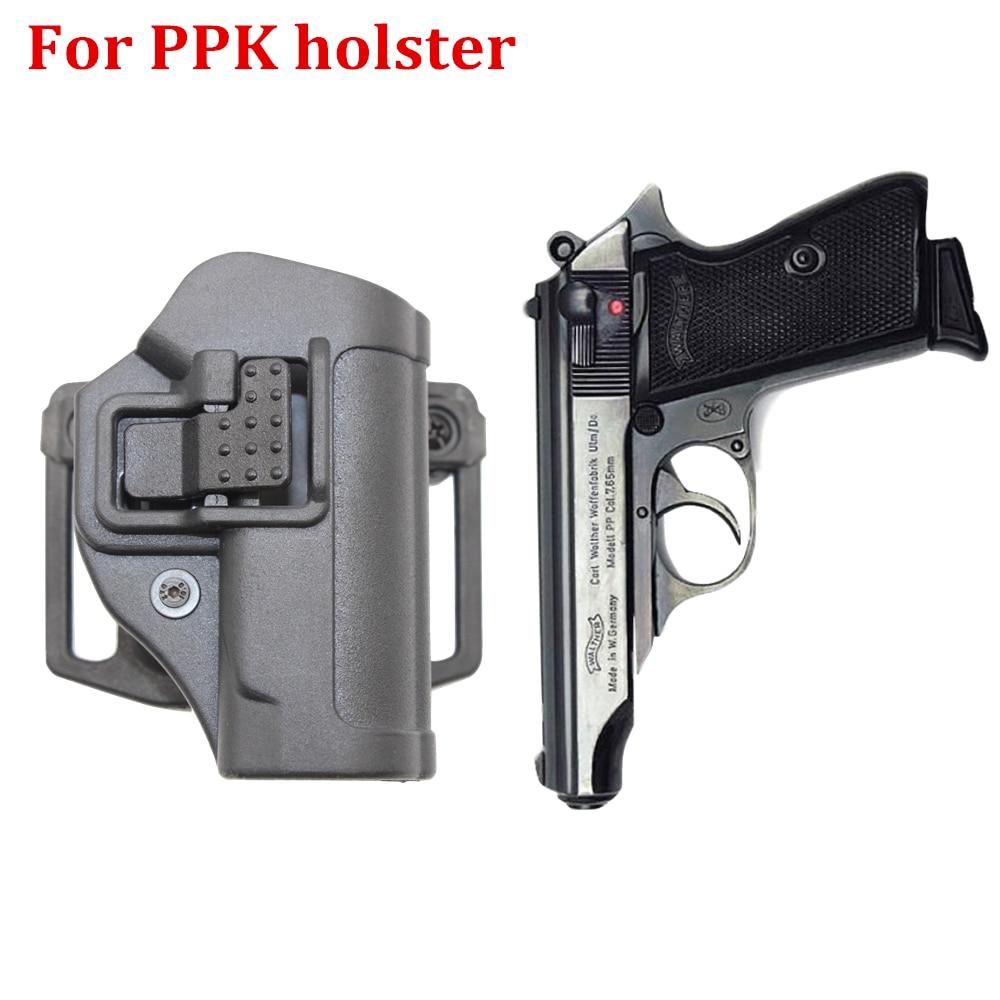 Tactical CQC Holsters for WALTHER PPK Pistol gun bag case holster for PPK 2238 belt loop gun sling molle airsoft Paintball case