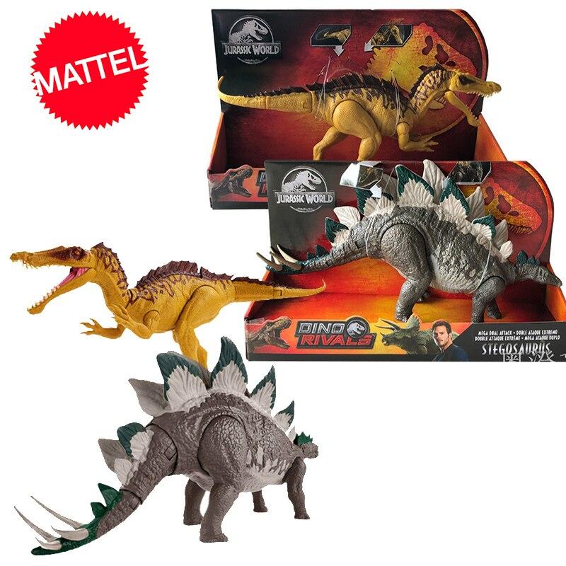 Оригинальный 37 см мир Юрского периода 2 большая конкурентоспособная модель динозавра игрушечные тираннозавры для детей дракон Oyuncak