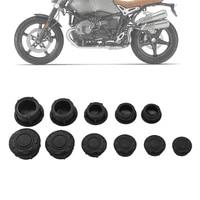 motorcycle decor cap hole cover for bmw r nine t rnine t r9t pure racer scrambler r ninet 9t 2014 2020 frame plug decorative cap