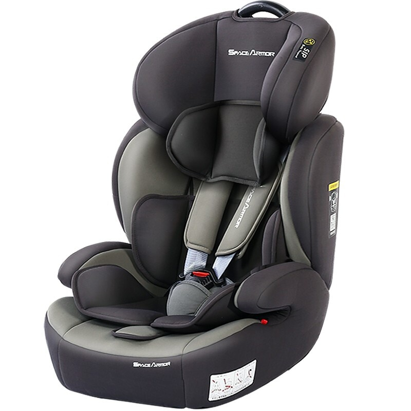 829space a Kids's Car Safety Seat Isofix Hard Link 9 Months-12-Year-Old Foldable Dual Interface Safety