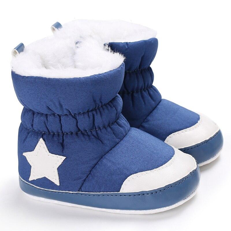 Ботинки VALEN SINA теплые для новорожденных, Нескользящие, мягкая подошва, защита от грязи, зимние боты для младенцев, 0-18 месяцев