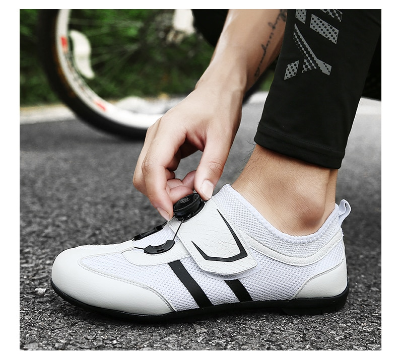 Road Cycling Shoes sapatilha ciclismo Non-Locking men sneakers women Pro Bike Triathlon Sports Bicycle Riding Athletic Shoes