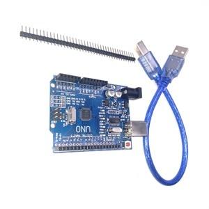 Плата оригинального разработки Atmega328p с кабелем Aurdino Ch340g Smd Подлинная Италия для Uno R3 Arduino