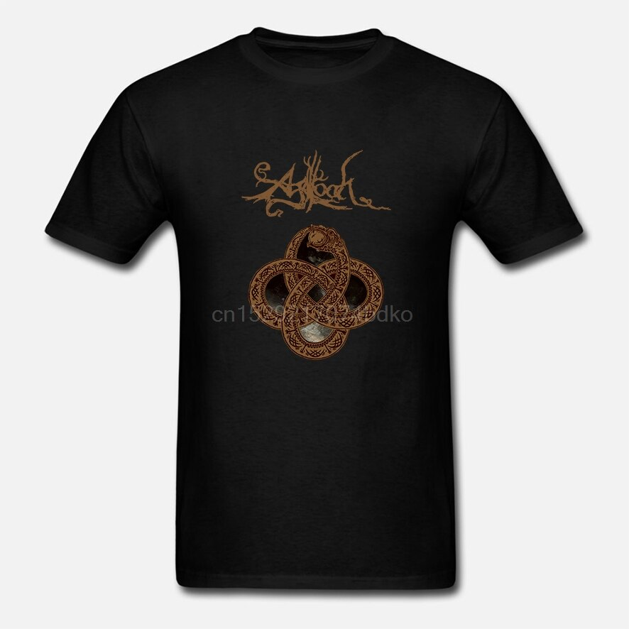 Camiseta para hombre Agalloch Blow Scene negro