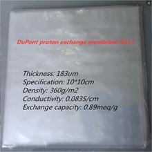 Custom DuPont proton exchange membrane N117 perfluorosulfonic acid ion membrane Nafion (size 10*10cm)