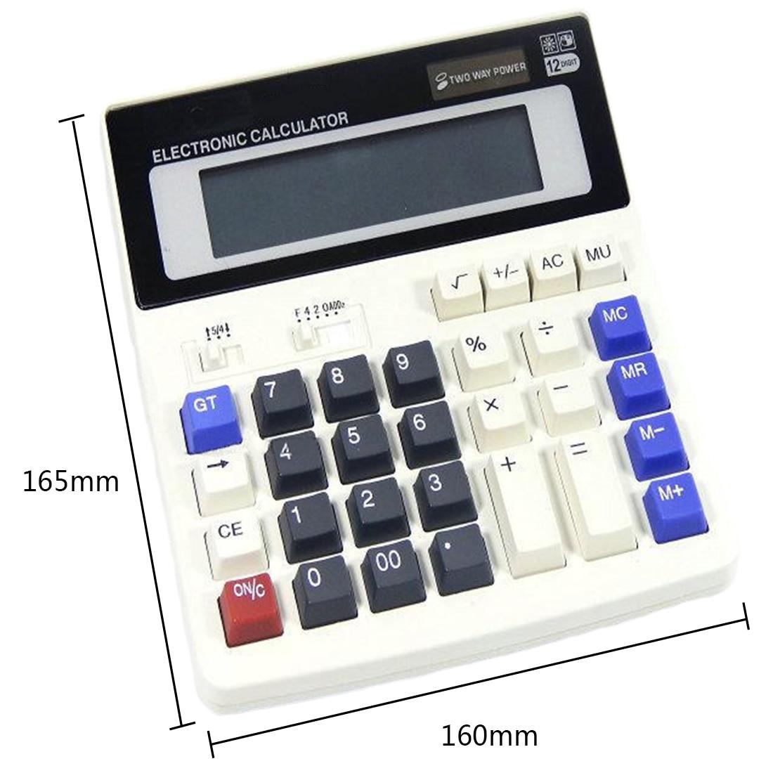 Big Buttons Office Calculator Large Computer Keys Muti-function Computer Battery Calculator