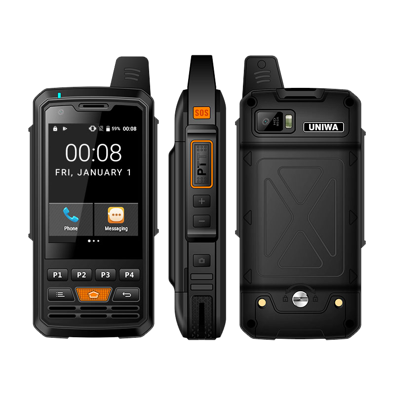 F50 2.8 Inch Cellphone 2G 3G 4G Zello Walkie Talkie Android 6.0 Quad Core MTK6735 Smartphone 1GB+8GB ROM Mobile Phone