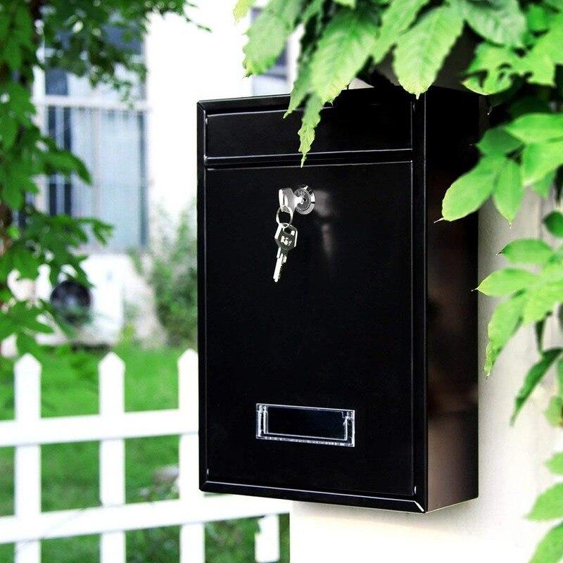 في الهواء الطلق قابل للقفل الحائط معلقة الحديد آخر صندوق البريد صندوق البريد مع مفتاح كلمة السر صندوق البريد في الهواء الطلق صندوق البريد في ...