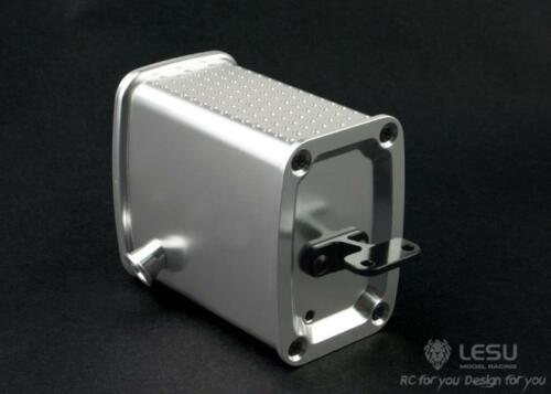 LESU 1/14 Exhaust Tank Upgraded Metal Box for TAMIYA Benz RC Tractors Truck Car TH02326-SMT5 enlarge