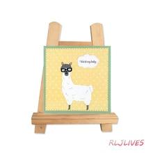 Alpaca Metal Cutting Dies Stencils for DIY Scrapbooking photo album Decorative Embossing DIY Paper Cards