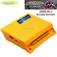 yinglucky Original Pandora box CX arcade version game board Built in 2800 games For arcade machine box 6s HDMI VGA output HD 720