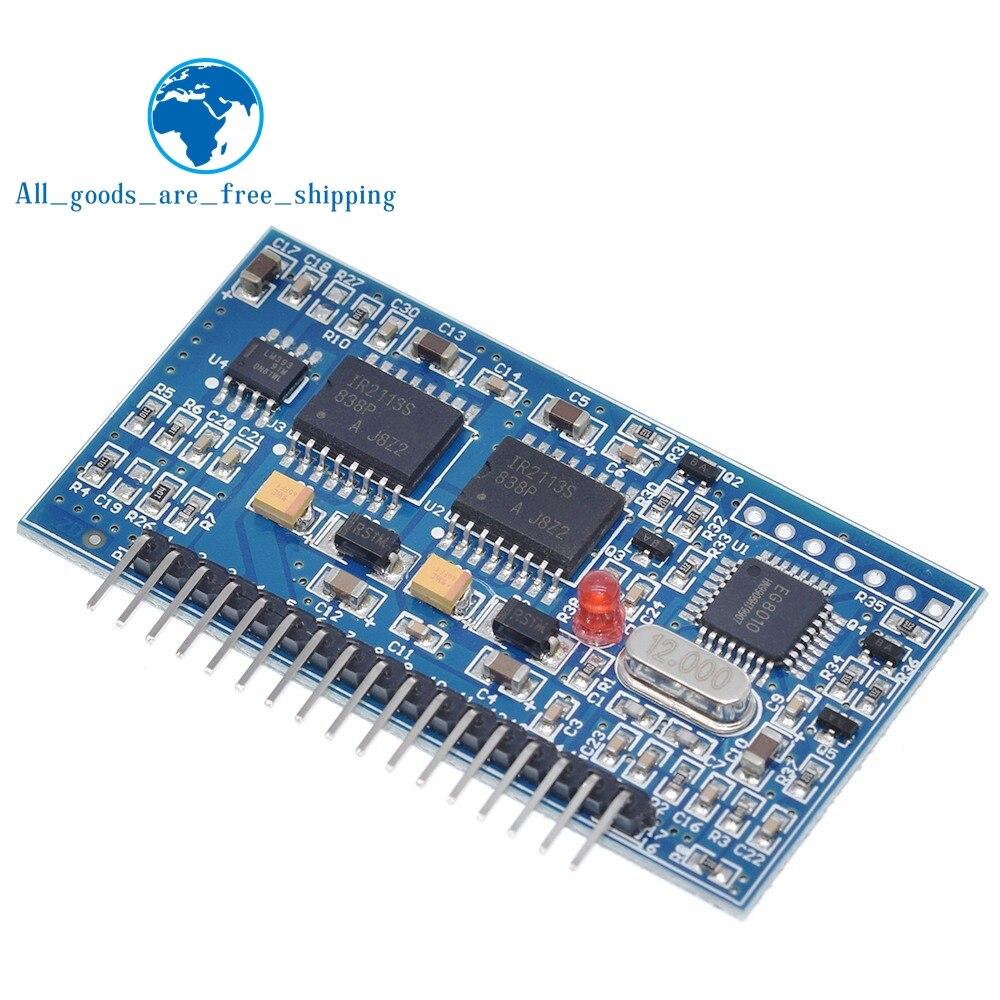 TZT 5 в DC-AC Чистая синусоида Инвертор SPWM драйвер платы EGS002 12 МГц кварцевый генератор EG8010 + IR2113 модуль вождения