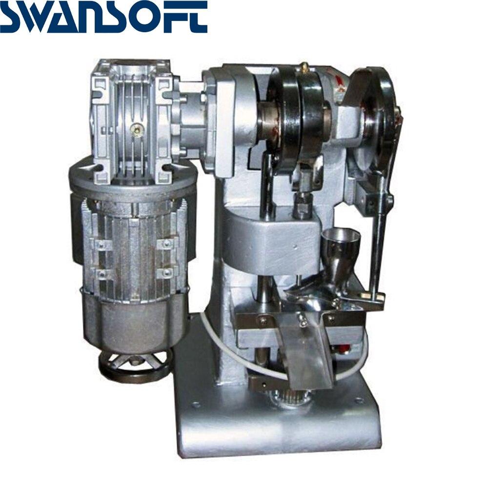 SWANSOFT экономичный TDP2 таблеточный пресс машина таблетка пресс машина большого диаметра таблеточный пресс конфеты