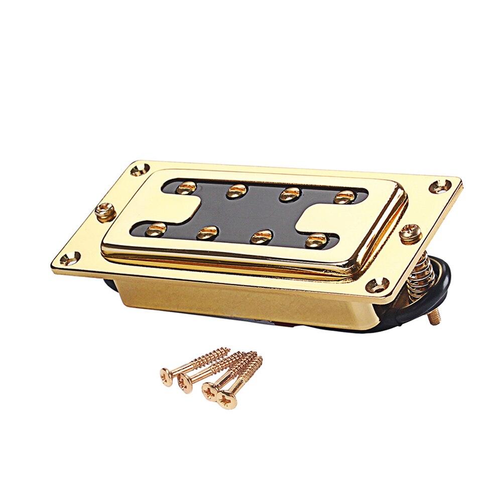 Золото 4 струны пикап джаз бас пикап хамбакер электрогитара аксессуары GMB27