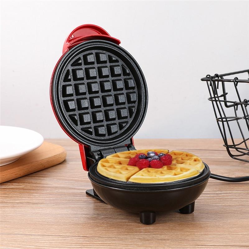 Mini máquina eléctrica para hacer gofres, masa semiesférica, horno de desayuno, máquina para hacer gofres de huevo, pastel, horno, Pan, máquina de Eggette